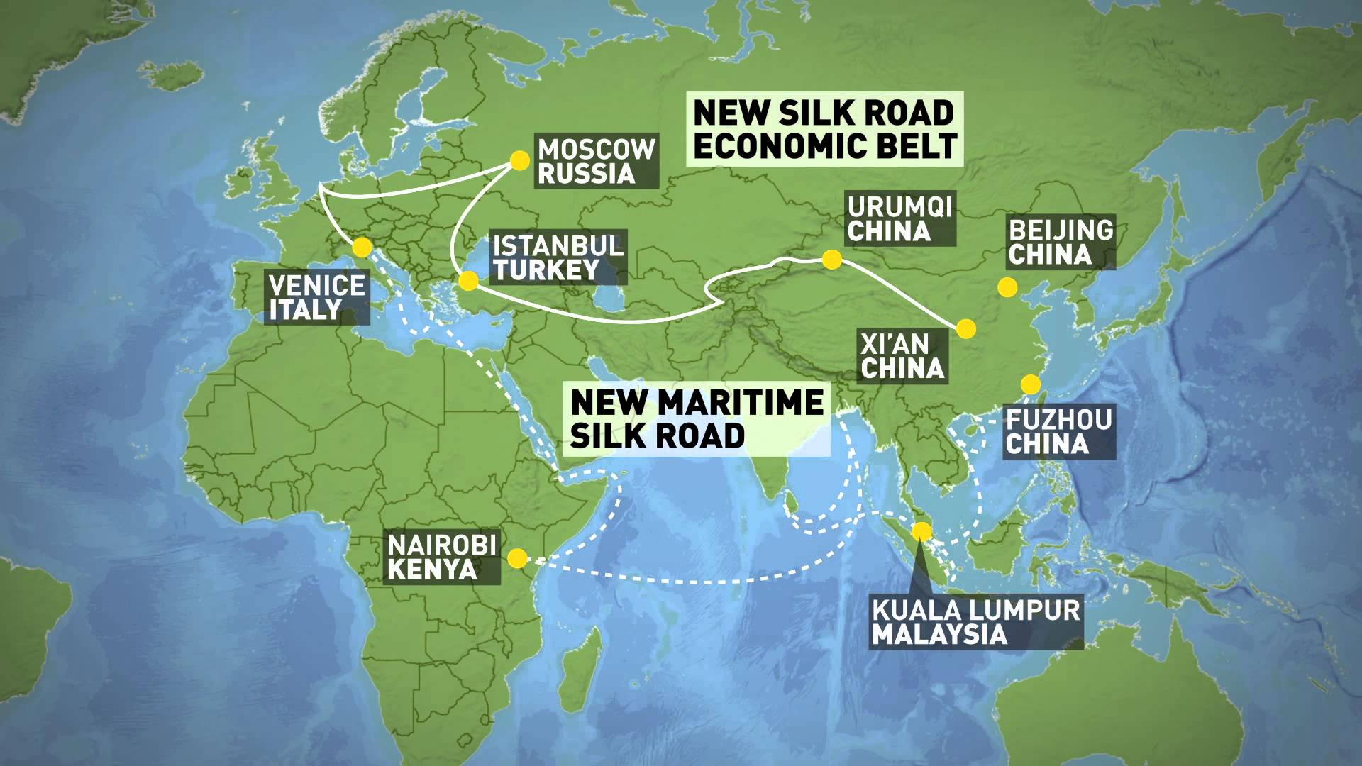 Transport Along China's Silk Road Economic Belt Just Got A Boost - Cambiaso  Risso Group
